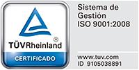 logo certificación TÜV
