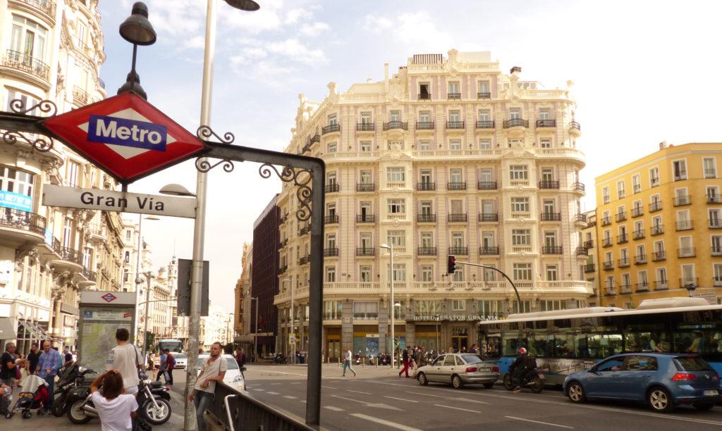 Gran Via Madrid