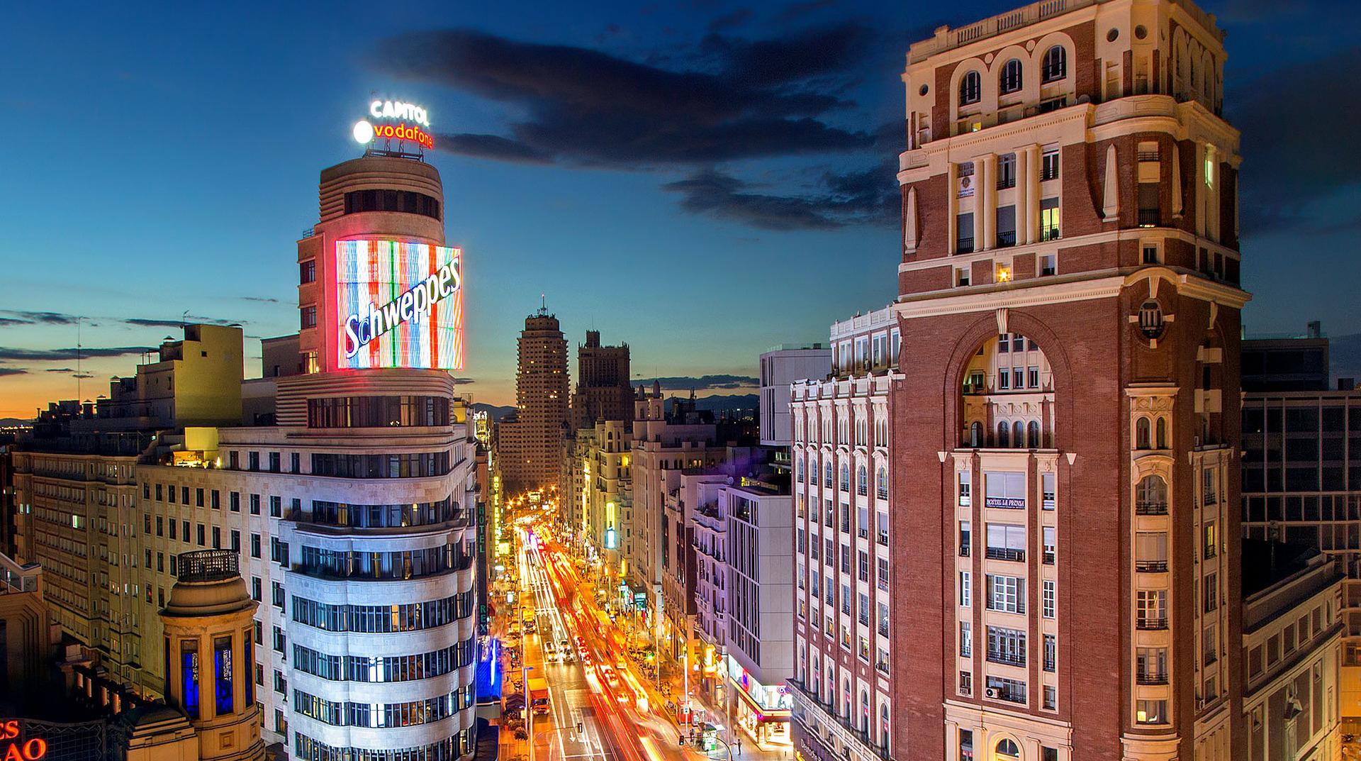 hoteles Gran Vía